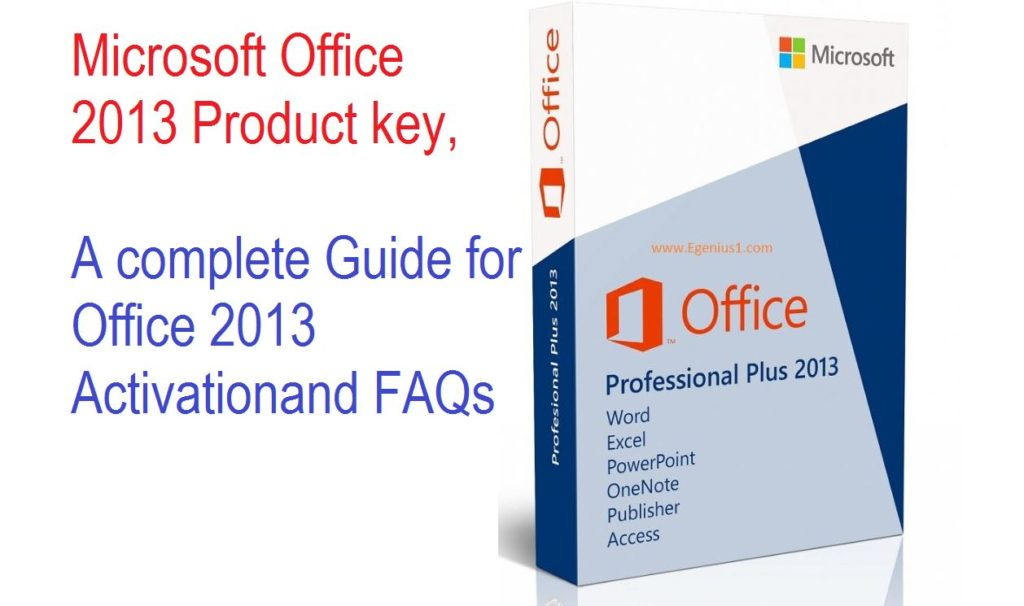 where do i enter my product key for microsoft office 2013