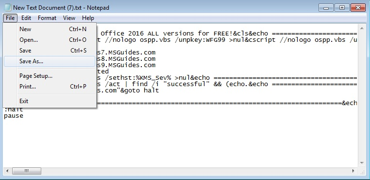 How do I activate my Microsoft Office 2016