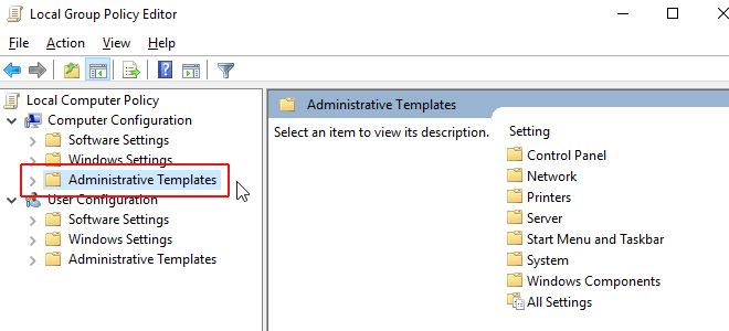 Turn off Automatic Updates in Windows 10 Using Group Policy Editor