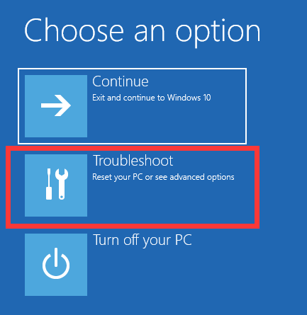 troubleshoot to repair windows os