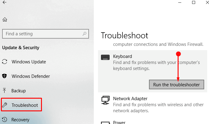 How to Run troubleshoot in Windows 10