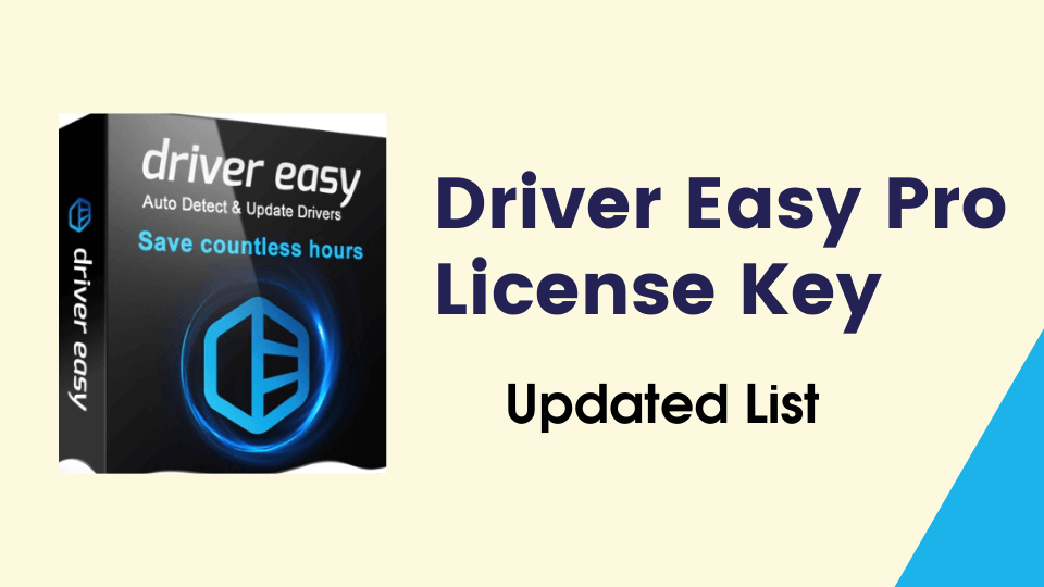 driver easy pro license key