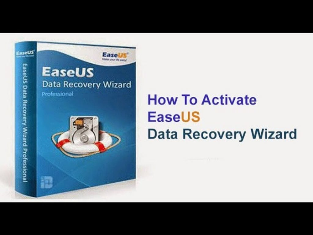 Activate the Easeus Data Recovery through easeus data recovery license code