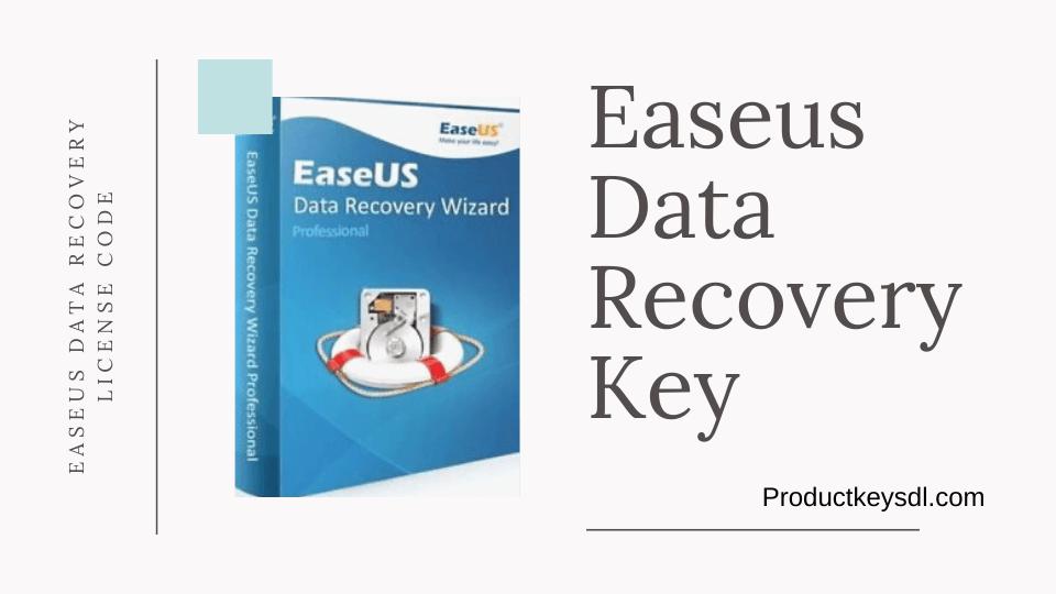 Clave de recuperación de datos de Easeus
