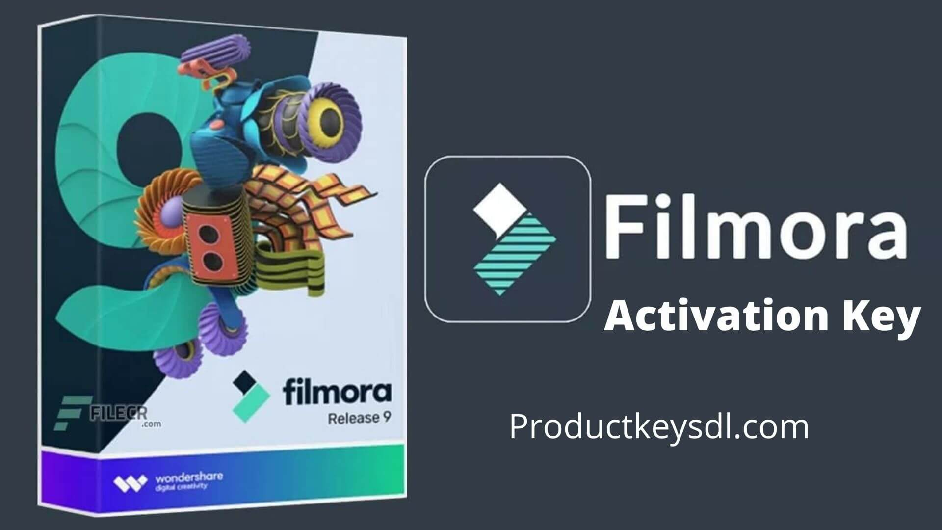 Wondershare Filmora activation key