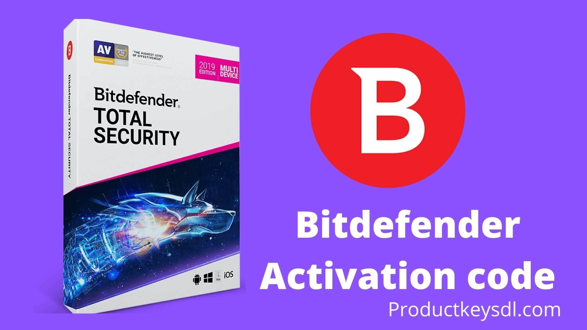 Bitdefender Activation code